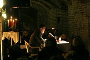 Josef Rauch liest aus seinem neuen Krimi